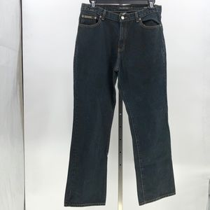 😍 Calvin Klein jeans 5 pocket boot leg bootcut 14